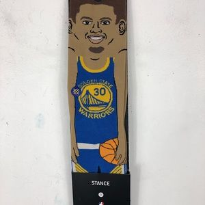 NBA Stance Stephen Curry Socks - Size Large